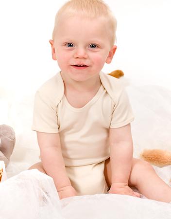 Babytextilien können auch ein schönes Taufgeschenk darstellen