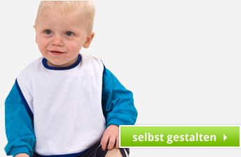 Ein Babylatz, des Babys Freund individuell gestalten
