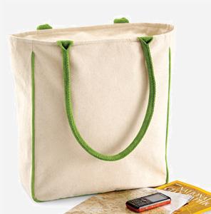 Kleine umweltfreundliche Stofftasche – Eine super Geschenkidee zu Weihnachten.