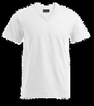 T-Shirt V Weiß | M