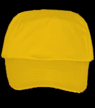 Kinder Basecap Gelb | One size