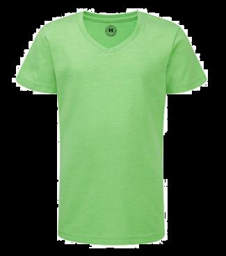 Mädchen V  Shirt Grün | 128