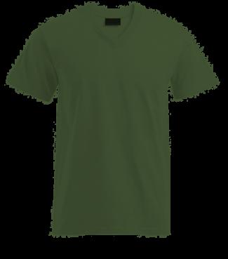 T-Shirt V Grün | S