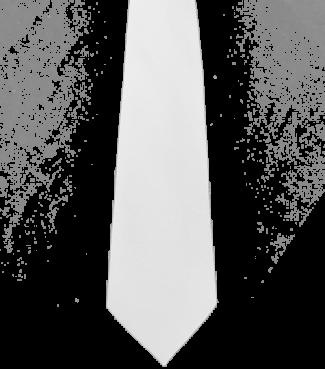 Krawatte Weiß | One size