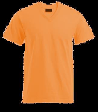 T-Shirt V Orange | L