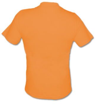 T-Shirt V Gelb | S