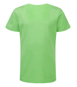 Mädchen V  Shirt Grün | 140