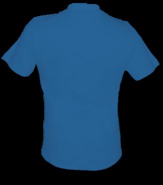 T-Shirt V Blau | M