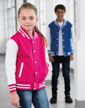 Kinder College Jacke