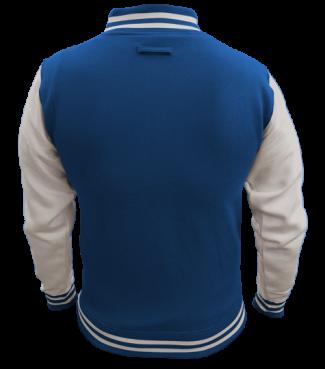 Kinder College Jacke Blau/Weiß | S